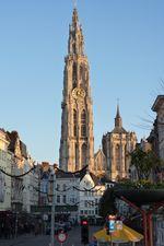 La cathédrale Notre-Dame à Anvers