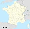 France location map-Regions and departements.png