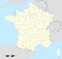 Carte administrative avec régions et départements distinguésAppel avec le paramètre «Image»