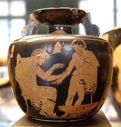 Medicine aryballos Louvre CA1989-2183.jpg