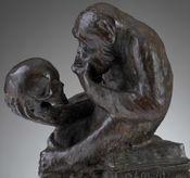 HugoRheinholdApeWithSkull.DarwinMonkey.3.jpg