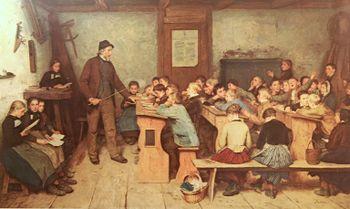 Anker Die Dorfschule von 1848 1896.jpg