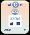 LogoWicriArtistJuillet2011Fr.png
