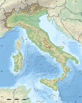 (Voir situation sur carte: Italie)