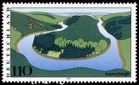 Stamp Germany 2000 MiNr2133 Saarschleife.jpg